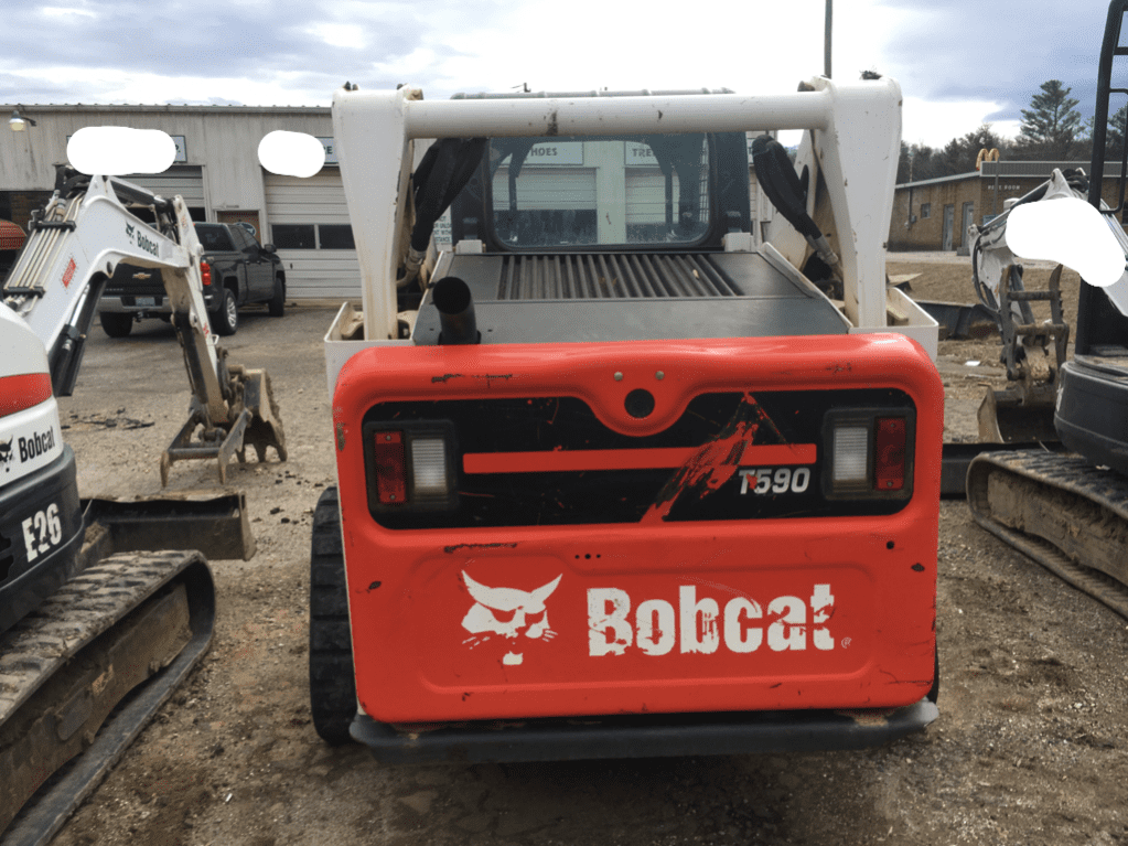 SOLD 2016 BobCat T590 Skid Steer / 9,000 lbs / Smooth Bucket / Low