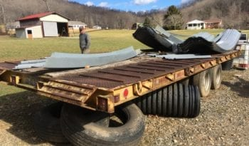 Hudson 20ft 12 Ton Tandem Axle Dual Tire Air Brake Trailer full