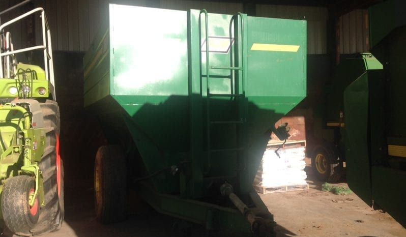 BJM HW400C Harvest Wagon full