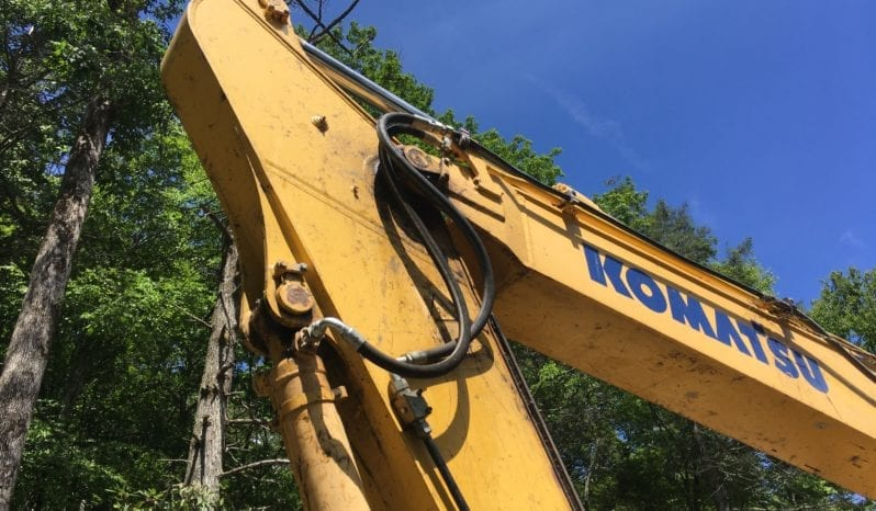 2012 Komatsu PC240 LC-10 / Manual Thumb w/ Auxillary Hydraulics full