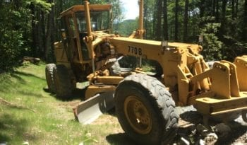 1992 John Deere 770B / OWNED BY A MUNICIPALITY ORIGINAL HOURS 1,900 full