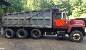 1988 Ford L9000 Tri Axle Dump Truck / 310hp L10 Cummins / Jake Brake full
