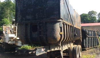 1968 21ft FrueHauf Dump Trailer full