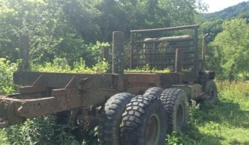 5 Ton 6X6 Military Log Truck full