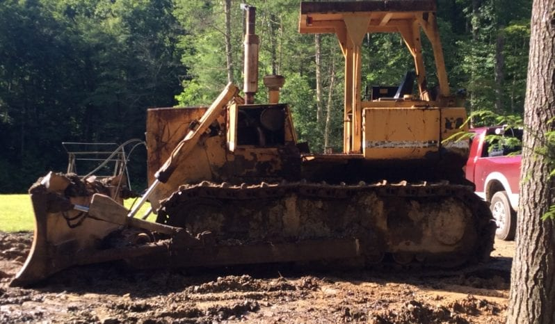 1984 Liebherr 731-C Dozer 4 Way Blade full
