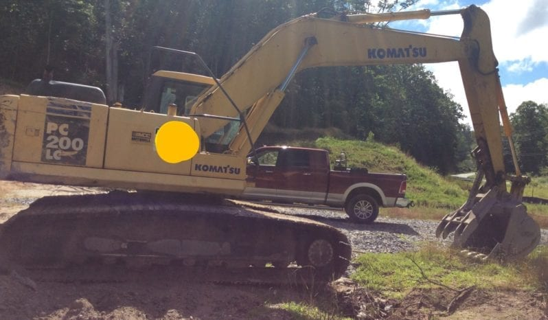 2005 Komatsu PC200 LC-7L / 3ft Bucket Manual Thumb full